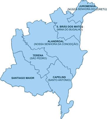 alandroal mapa Detalhes   Rádio Campanário alandroal mapa