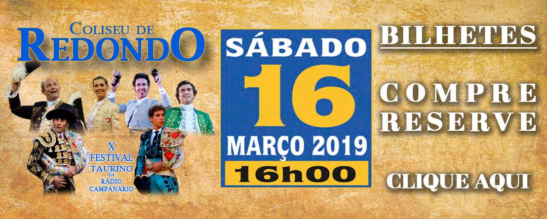 Bilhetes Festival Taurino