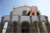 Arcebispo sobe ao topo da Igreja de S. Francisco para abençoar Évora no Domingo de Páscoa