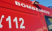 Beja: Ambulância dos bombeiros em serviço de emergência despista-se