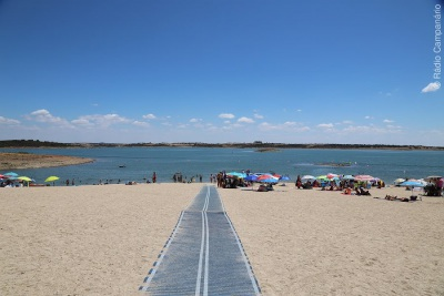 Praia Fluvial de Monsaraz é a primeira praia portuguesa a iniciar oficialmente a época balnear