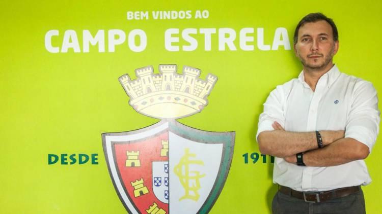 """SAD do Lusitano repudia comunicado da direção e pede """"marcação de eleições no clube"""", diz Nuno Madeira Rodrigues (c/som)"""