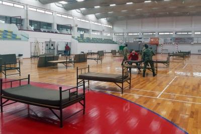 SOUSEL: CÂMARA MUNICIPAL INSTALA HOSPITAL DE CAMPANHA NOS BOMBEIROS