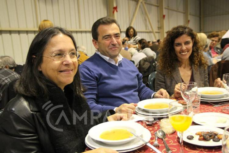Reguengos de Monsaraz: Almoço de Natal reuniu cerca de 500 idosos (c/som e fotos)