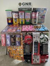 GNR Setúbal – Apreensão de máquinas de jogo ilegal