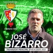 José Bizarro é o novo treinador do Lusitano de Évora SAD