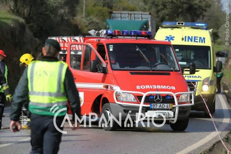 Despiste entre Vila Viçosa e São Romão faz um ferido grave