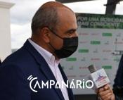 """Apesar dos 600 mil euros em apoios, """"a câmara é só uma gota ou duas de água neste oceano de dificuldade"""" - diz presidente da CM de Almodôvar (c/som)"""