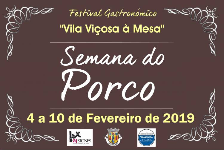 """Porco em destaque no Festival Gastronómico """"Vila Viçosa à Mesa"""""""