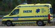 Despiste de ligeiro faz dois feridos na EN2 em Alcáçovas