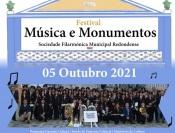 Festival Música e Monumentos: Sociedade Filarmónica Redondense atua a 5 de outubro