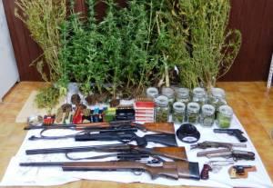 Homem detido em Beja com centenas de doses de droga e várias armas
