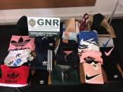 GNR de Ponte de Sor apreendeu roupas contrafeitas no valor de 500 euros
