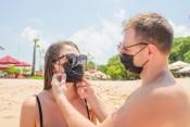 FNAJ vai distribuir máscaras na Praia da Amieira, em Portel (c/vídeo)