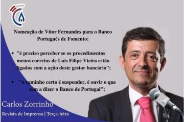 Comentário semanal, do eurodeputado Carlos Zorrinho, aos microfones da Rádio Campanário (c/som)