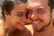 Casal Rita Ferro Rodrigues e Ben sem receio de passar fim de semana de descanso em Monsaraz