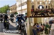 Vila Viçosa: Duas centenas de motards participaram na Peregrinação ao Santuário de Nsa Sra da Conceição (c/som e fotos)