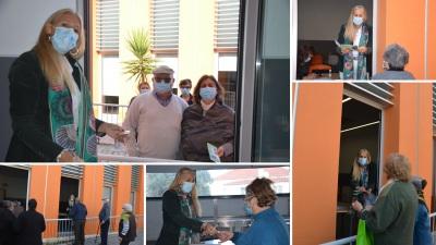 Para celebrar o Dia do Respeito pela Pessoa Idosa, Câmara de Nisa entrega vales de oferta em compras aos anciãos do concelho