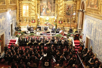Misericórdia de Évora tornou a acolher na sua igreja os irmãos e comunidade em geral para o habitual Concerto de Natal