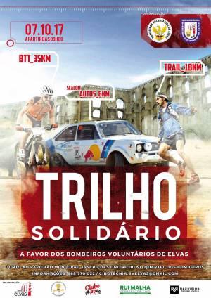 """Bombeiros Voluntários de Elvas promovem """"Trilho Solidário"""""""