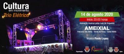 """""""Cultura em Movimento"""" - Freguesia do Ameixial recebe amanhã à noite o Trio Elétrico"""