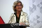 Ministra Ana Abrunhosa segue atentamente projeto de ligação do Rio Guadiana, entre Badajoz e Alqueva (c/ som)