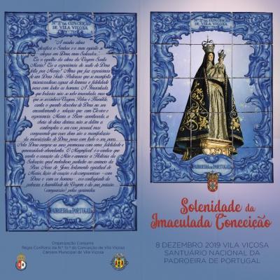 7e 8 de dezembro celebrações da Solenidade da Imaculada Conceição.