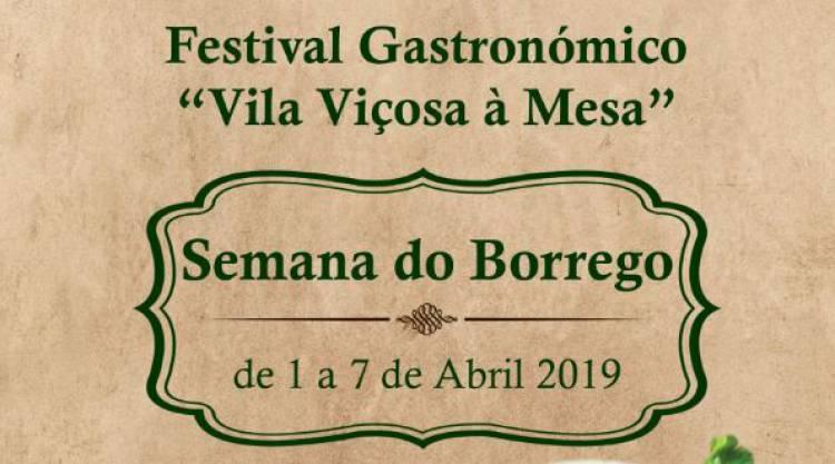 Vila Viçosa promove a Semana do Borrego de 1 a 7 de abril