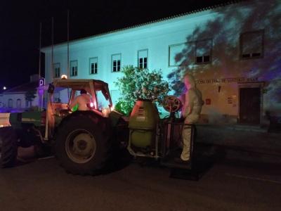 Alandroal: Higienização em vários arruamentos e vias do concelho
