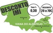 Município de Viana do Alentejo mantém IMI no mínimo