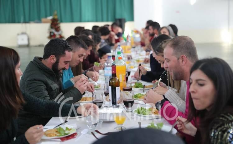 """""""O socorro e a estabilidade imperam"""" nos B.V. de Alandroal, diz pres. da Assoc. Humanitária no almoço de Natal (c/som e fotos)"""