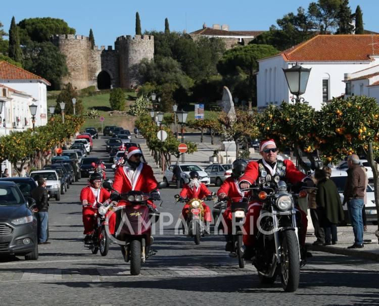 Pais Natais motards nas estradas do concelho de Vila Viçosa este fim de semana