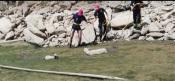 Dois animais presos na Barragem de Alqueva resgatados pelos Bombeiros Voluntários de Mourão