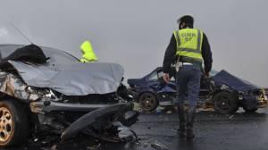 Doze acidentes de viações provocaram 9 feridos este fim de semana, informa a GNR (c/som)