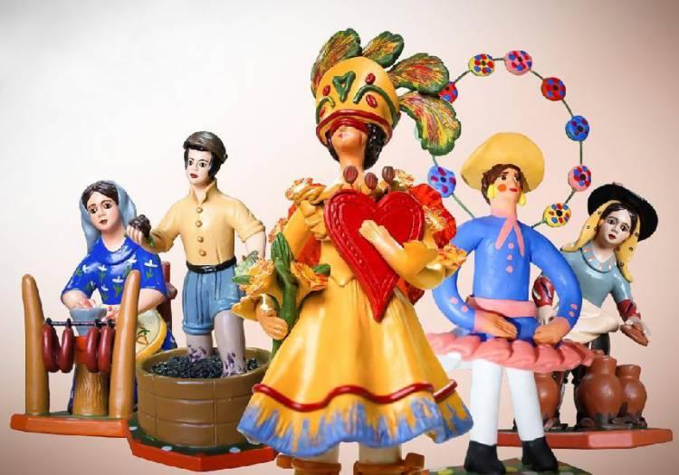 Bonecos de Estremoz, Chocalhos e Cante Alentejano no Museu do Coa