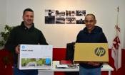 Associação de Futebol de Portalegre entrega material informático aos clubes filiados