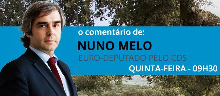 """Sistema educativo socialista é um """"hino á irresponsabilidade"""", diz Nuno Melo no seu comentário semanal (c/som)"""