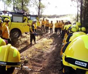 Perito em incêndios florestais chileno veio ao Alto Alentejo formar e capacitar sapadores (c/fotos)