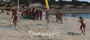 """Mourão proporcionou às crianças """"atividades para desfrutarem do Grande Lago"""" nos Encontros do Mar em Alqueva, diz autarca (c/som)"""
