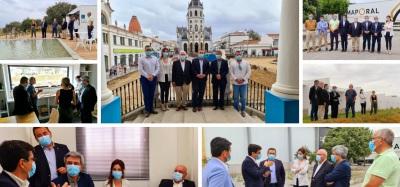 Deputados socialistas Capoulas Santos e Norberto Patinho iniciam visitas à região para conhecerem impacto da pandemia