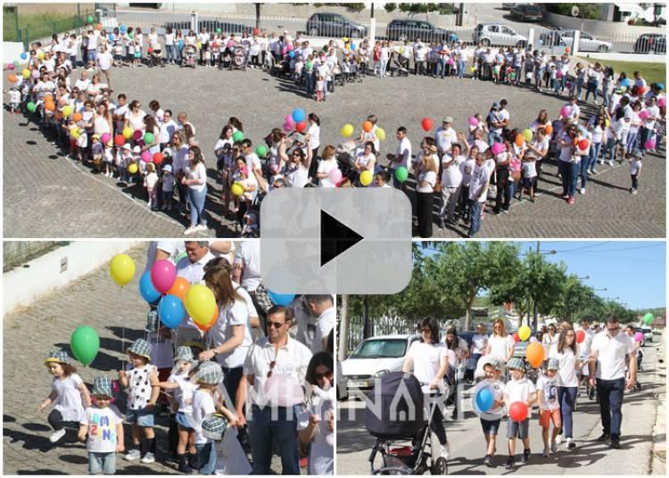 Santa Casa da Misericórdia de Borba celebra o dia da família com um coração humano. Veja aqui o vídeo desta iniciativa