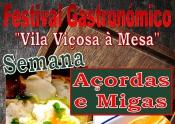 Semana das Açordas e Migas em Vila Viçosa, de 6 a 12 de janeiro