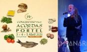 Portel recebe 14º Congresso das Açordas de 3 a 5 de abril. Ágata irá atuar, conheça o cartaz