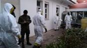 Exército Português realiza ação de descontaminação no Centro de Saúde de Estremoz