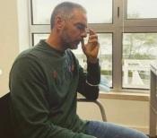O apresentador Alentejano Claudio Ramos em lágrimas, com proposta de Cristina Ferreira.