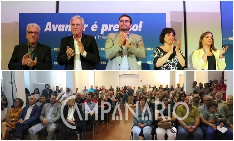 A Campanário esteve presente na apresentação do candidato da CDU, João Oliveira à Assembleia da República. Veja a fotorreportagem (c/som)