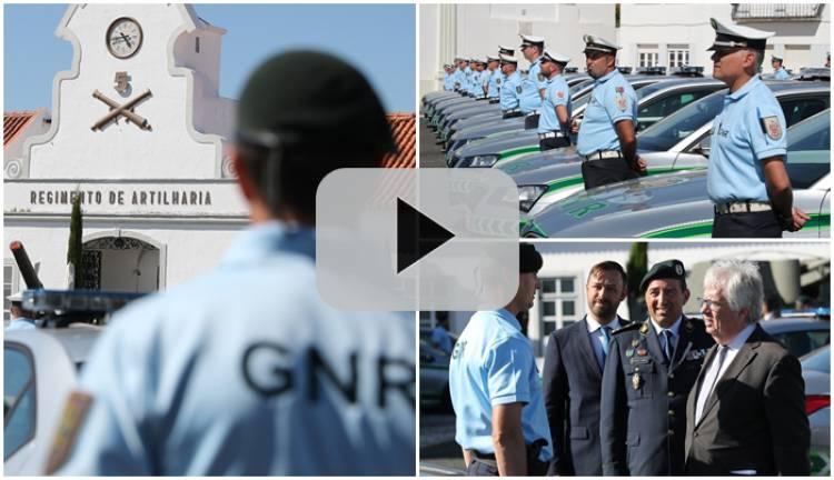 Governo entrega 224 viaturas à GNR em Vendas Novas, veja aqui em vídeo