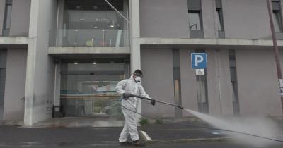 COVID-19: Município de Évora continua desinfeção de espaços públicos
