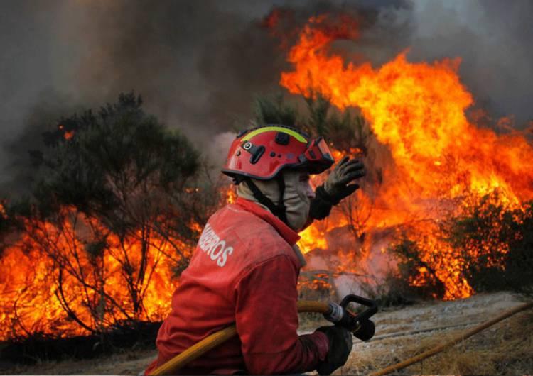 Incêndio de Mação alastra ao distrito de Portalegre, ameaçando aldeias do concelho de Gavião