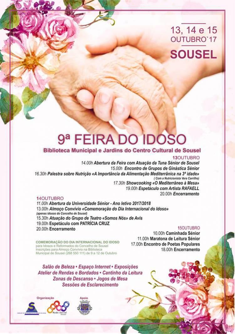 Sousel receberá este fim-de-semana 9ª Feira do Idoso